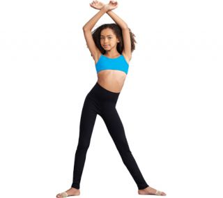 Girls Capezio Dance Active Legging   Black
