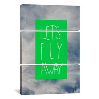 Leah Flores Lets Fly Away 3 Piece Graphic Art on Wrapped Canvas Set