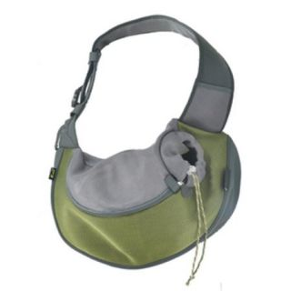Wacky Paws WPC024 OL Pet Sling Carrier, Olive, Large