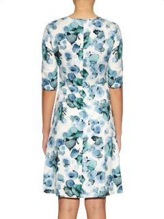 Arianna floral print crepe dress  Goat