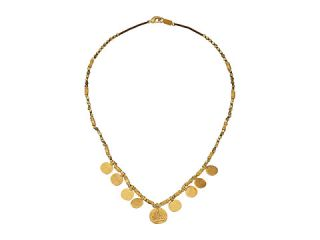 Chan Luu 17 Gold Toned Charm Necklace