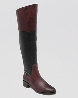 VINCE CAMUTO Over The Knee Riding Boots   Vatero Two Tone