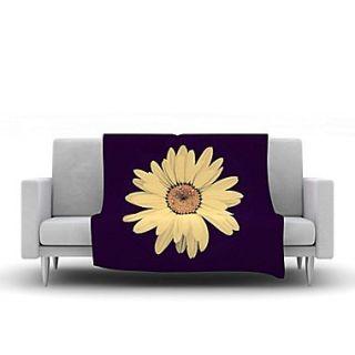 KESS InHouse Half Crazy by Robin Dickinson Fleece Throw Blanket; 90 H x 90 W x 1 D