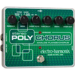 Electro Harmonix  Stereo Polychorus Pedal POLYXO