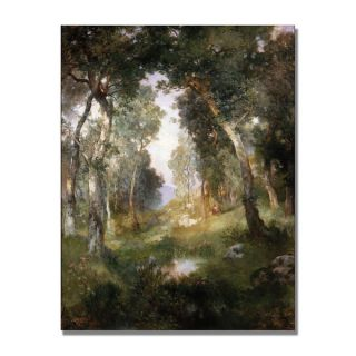Thomas Moran Forest Glade Santa Barbara Canvas Art   15433746