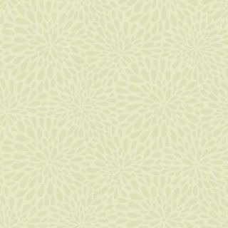 Beacon House 56 sq. ft. Calendula Green Modern Floral Wallpaper 2535 20662