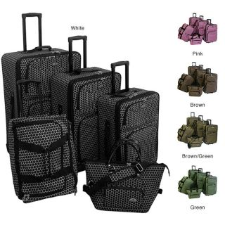 American Flyer Small Dots 5 piece Luggage Set  ™ Shopping