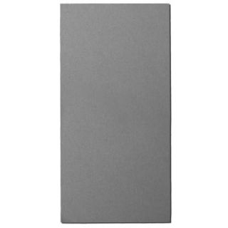 Owens Corning 1.125 in. x 24 in. x 48 in. Blue Fabric Rectangle Acoustic Sound Absorbing Wall Panels (2 Pack) 02507