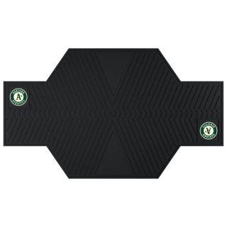 Fanmats Oakland Athletics Black Rubber Motorcycle Mat   17327483