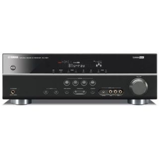 Yamaha RX V367 5.1 Channel Digital Home Theater A/V Receiver, 3D Ready, Featuring 1080P Compatible HDMI Repeater (4 In/1 Out)   Black RXV367BL