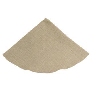 Chooty & Co Burlap Round Hemmed Tree Skirt