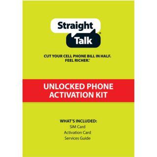 Straight Talk T Mobile Compatible Standard SIM Card