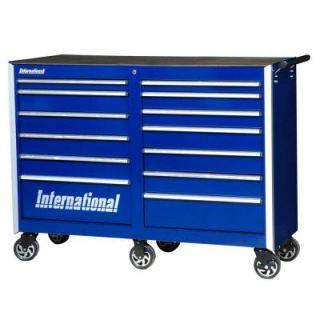 International Pro Series 54 in. 13 Drawer Cabinet, Blue PRB 5413BU   Mobile