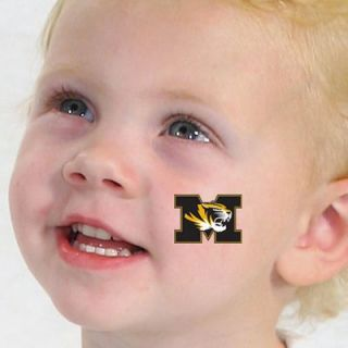 Missouri Tigers Temporary Tattoos