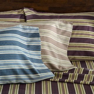 Cabana 350 TC Stripe Cotton rich Sheet Set   16977727
