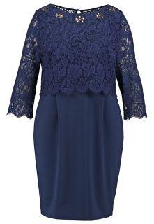 Dorothy Perkins Curve SHOWCASE   Summer dress   navy blue