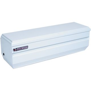 WEATHER GUARD 62 in x 20 in x 19.25 in White Steel Universal Truck Tool Box