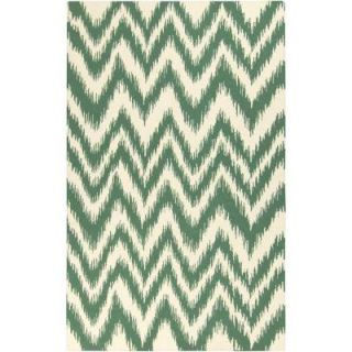 Surya Frontier Emerald/Kelly Green 2 ft. x 3 ft. Indoor Area Rug FT501 23