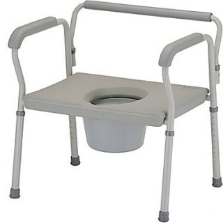 Nova Medical Products Steel Bariatric Commode 27.5 x 26.5