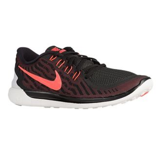Nike Free 5.0 2015   Mens   Running   Shoes   Black/University Red/White/Hyper Orange
