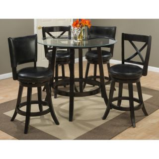 Aaron Pub 40 Swivel Bar Stool with Cushion