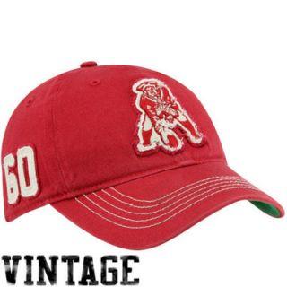 47 Brand New England Patriots Badger Closer Flex Hat   Red