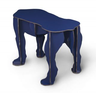 Rex Bench Gloss y blue by Ibride