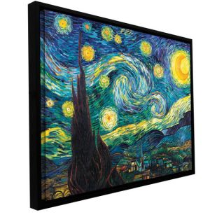 Vincent van Gogh Starry Night Over the Rhone Floater framed Gallery