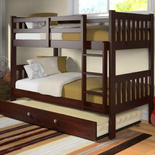 Donco Kids Washington Twin Bunk Bed with Trundle