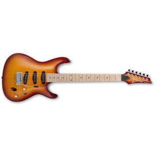 Ibanez SA Series SA130MFM Electric Guitar, Brown Burst SA130MFMBBT