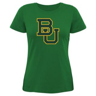 Baylor Bears Womens Core Logo Too Relaxed T Shirt – Kelly Green
