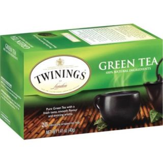 Twinings of London Green Tea Bags, 20 count, 1.41 oz
