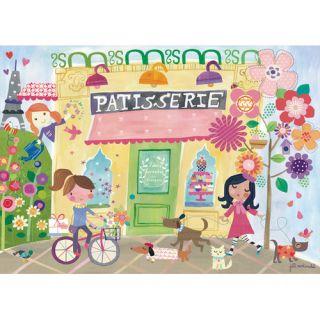 Outside The Patisserie by Jill McDonald Canvas Art by Oopsy Daisy
