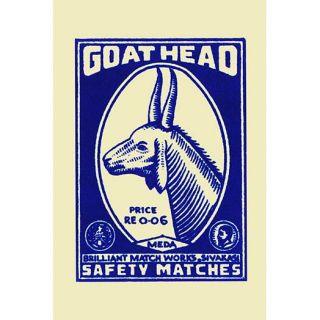 Goat Head Vintage Advertisement by Buyenlarge