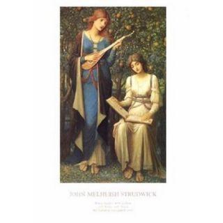 When Apples Were Golden Poster Print by John Strudwick (17 x 24)
