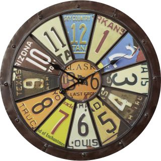 Trent Austin Design Placentia Oversized 26.75 Hildale Wall Clock