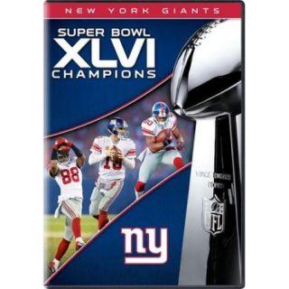 Team Marketing WW TM1465 New York Giants Super Bowl XLVI Champs DVD