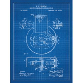 Inked and Screened Energy and Power Inductor Generator for Ignition