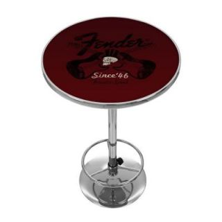 Trademark Fender Top Hat Hot Rod 42 in. H Pub Table FNDR2000 TOPHAT