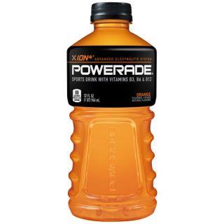 Powerade Orange Liquid Hydration + Energy Sports Drink, 32 Fl Oz