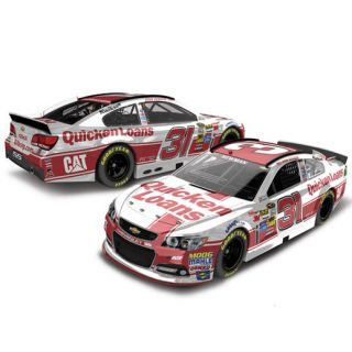 Action Racing Ryan Newman 2015 #31 Quicken Loans 1:24 Scale Color Chrome Die Cast Chevrolet SS