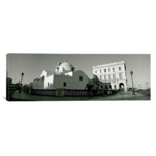 iCanvas Panoramic Jamaa El Jedid, Algiers, Algeria Photographic Print on Canvas