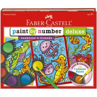 Paint By Number Deluxe Sea Horse Kit