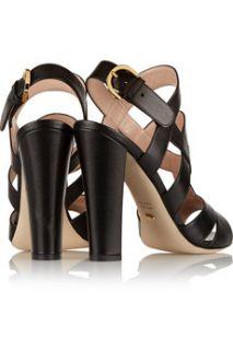 Donna textured leather sandals  Sergio Rossi