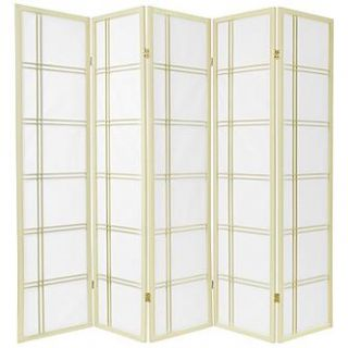 Oriental Furniture 6 ft. Tall Double Cross Shoji Screen   Special