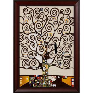 Tori Home Tree of Life by Klimt Framed Original Painting