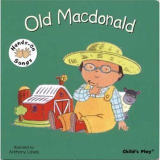 Harris Communications B1269 Hands On Songs   Old Macdonald Board Book