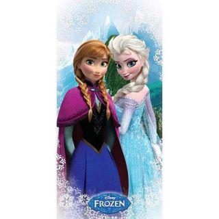 Disney Frozen Snowflake Beach Towel, Blue