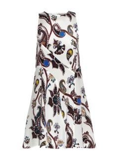 Macbay Urdu paisley print silk mini dress  Mary Katrantzou US