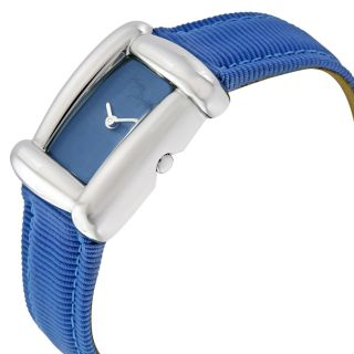 Henry Dunay Sabi Light Blue Dial Fabric Strap Ladies Watch W6003BLUE